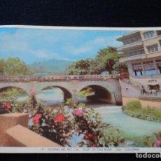 Postales: CALI COLOMBIA ESCENAS DEL RIO CALI. Lote 145352554