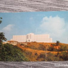 Postales: 6087 CUBA TRINIDAD SANATORIO ANTITUBERCULOSIS TOPES DE COLLANTES HILLTOP AN IMMENSELY LARGE EDIFICE . Lote 147106014