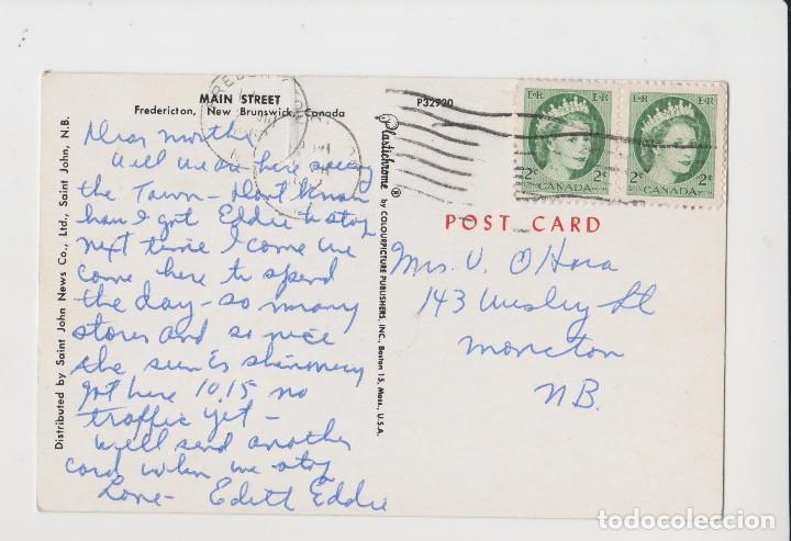 Postales: POSTALES POSTAL CANADA COCHES SELLOS - Foto 2 - 147538038