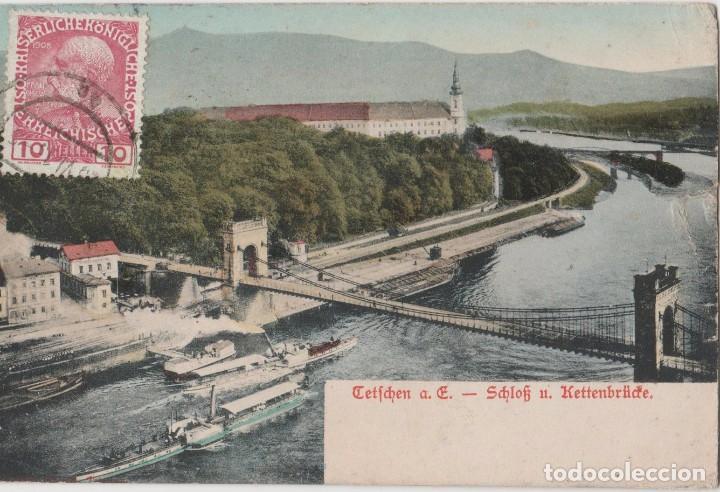 POSTALES POSTAL 1913 MATA SELLOS (Postales - Postales Extranjero - América)