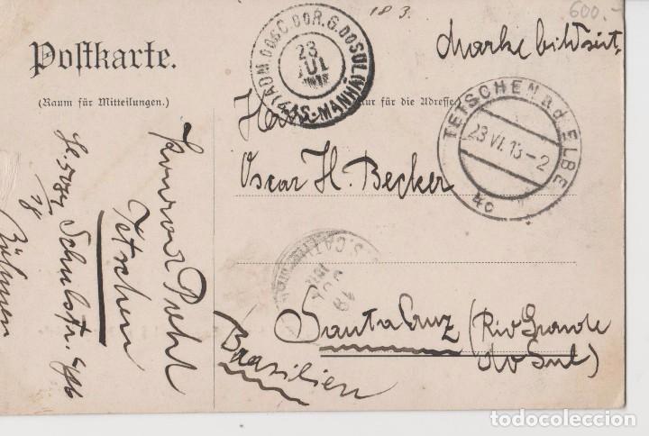 Postales: POSTALES POSTAL 1913 MATA SELLOS - Foto 2 - 147538698