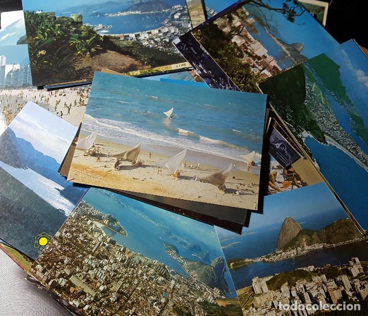 Postales: Lote de 195 postales de Brasil - Foto 2 - 147576514