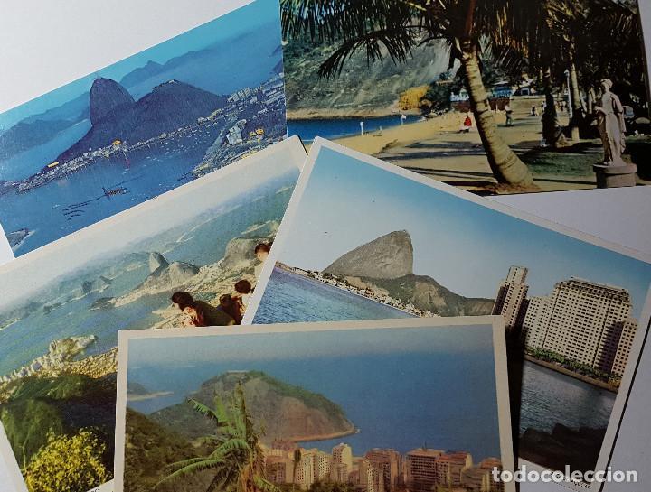 Postales: Lote de 195 postales de Brasil - Foto 3 - 147576514