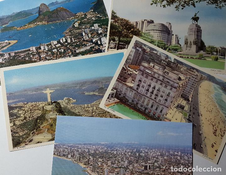 Postales: Lote de 195 postales de Brasil - Foto 4 - 147576514