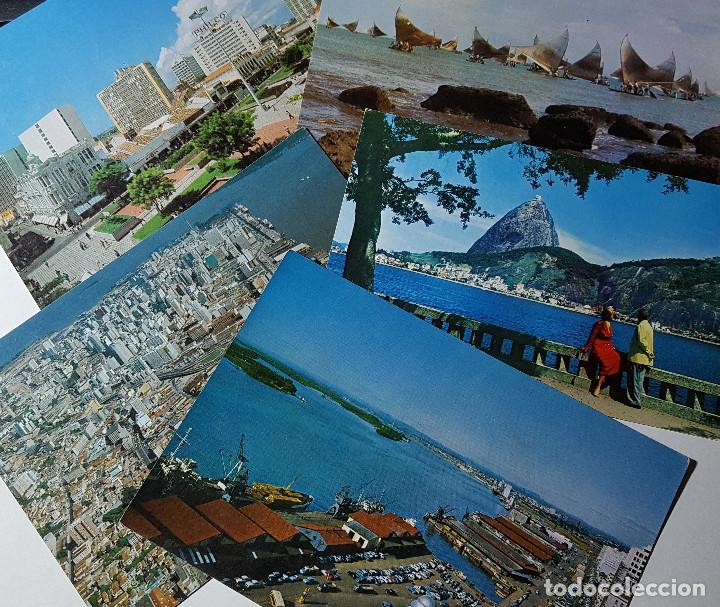Postales: Lote de 195 postales de Brasil - Foto 5 - 147576514