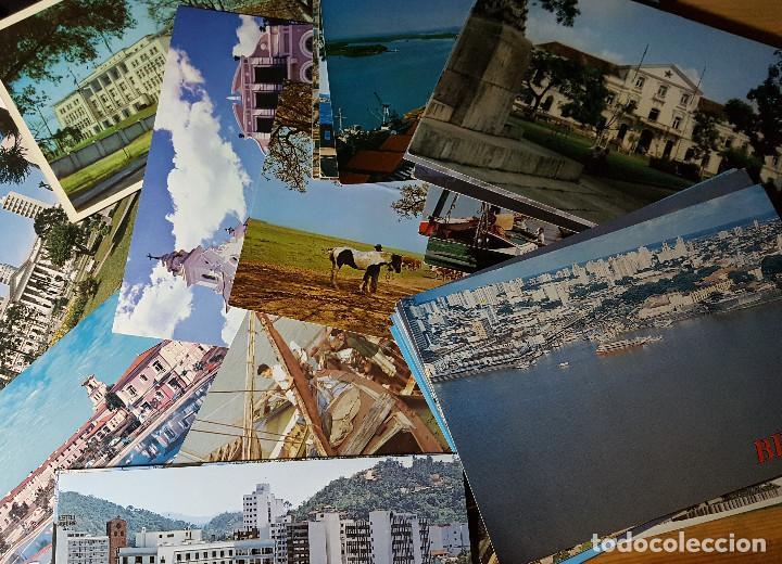Postales: Lote de 195 postales de Brasil - Foto 6 - 147576514