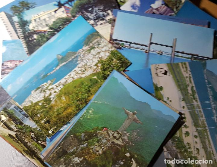 Postales: Lote de 195 postales de Brasil - Foto 7 - 147576514