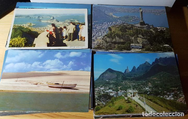 Postales: Lote de 195 postales de Brasil - Foto 8 - 147576514