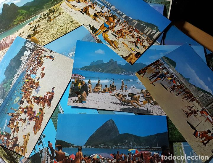 Postales: Lote de 195 postales de Brasil - Foto 9 - 147576514
