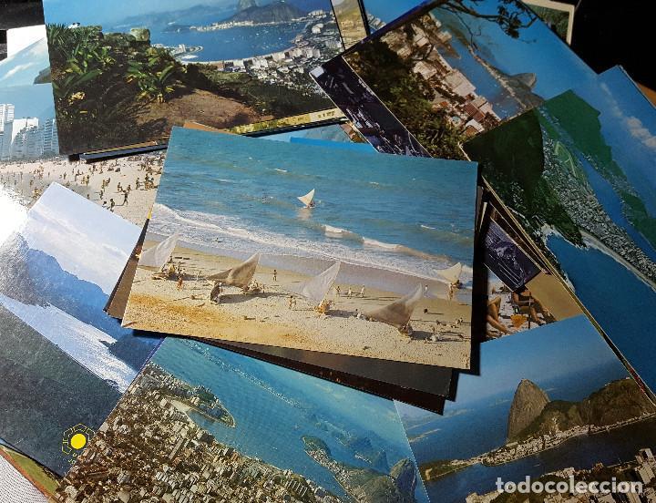Postales: Lote de 195 postales de Brasil - Foto 10 - 147576514