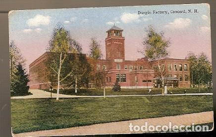 ESTADOS UNIDOS ** & POSTAL, FÁBRICA DE DURGIN, CONCORD N.H (6886) (Postales - Postales Extranjero - América)