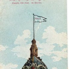 Postales: NEW YORK. SINGER BUILDING 1906. POSTAL TRIPLE. Lote 147691750