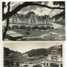 Postales: BRASIL. PETRÓPOLIS. HOTEL QUITANDINHA. DOS POSTALES. Lote 148275018