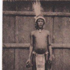 Postales: POSTAL ORIGINAL. DÉCADA 30. BRASIL. TIPO INDIO TUYNKA. Nº 1941. Lote 148283994