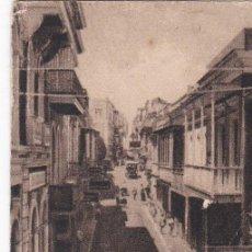 Postales: POSTAL ORIGINAL. DÉCADA 30. PUERTO RICO. SAN JUAN. CALLE CRUZ. Nº 1567. Lote 159801980