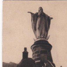 Postales: POSTAL ORIGINAL. DÉCADA 30. CHILE. SANTIAGO. VIRGEN DE SAN CRISTOBAL. Nº 1957. Lote 148663934