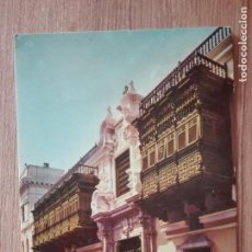 Postales: POSTAL DE LIMA (PERU) PALACIO TORRE TAGLE-C-1008 FAUCETT AIRLINES. Lote 149798510