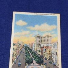 Postales: POSTAL HABANA PASEO DE MARTI O PRADO COLORTONE. Lote 150561522