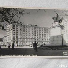 Postales: CHILE SANTIAGO PLAZA GENERAL BULNES. PROP. 8319. FOTOGRAFICA. FOTO MORA. ESCRITA. Lote 151702678
