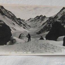 Postales: CHILE. LOS ANDES. LAGUNA DEL INCA. FOTO MORA. ESCRITA. Lote 151703002