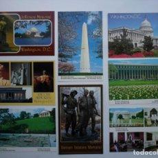 Postales: 8 POSTALES DE WASHINGTON. Lote 152184094
