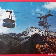 Cartes Postales: MÉRIDA (VENEZUELA). 5 TELEFÉRICO. PICO ESPEJO, AL FONDO EL PICO BOLÍVAR. USADA CON SELLO. COLOR. Lote 152788373
