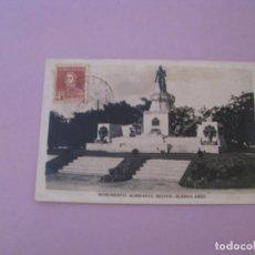 Postales: ARGENTINA. BUENOS AIRES. MONUMENTO ALMIRANTE BROWN. 1929.. Lote 153218634