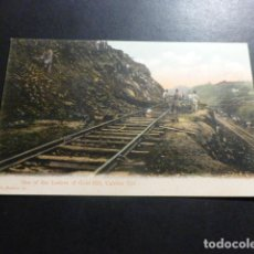Postales: PANAMA OBRAS DEL CANAL ONE OF THE LEDGES OF GOLD HILL CULEBRA CUT REVERSO SIN DIVIDIR. Lote 153635834