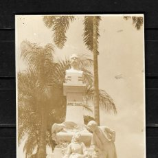 Postales: COLOMBIA POSTAL DEL MONUMENTO A JORGE ISAACS EN CALI . Lote 154819410