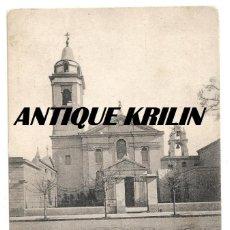 Cartoline: BUENOS AIRES Nº 101 IGLESIA DEL PILAR , COLECCION AMERICA CRISTIANA .- FOTO OLDS. Lote 260550135