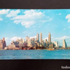 Postales: POSTAL LOWER MANHATTAN SKYLINE. NEW YORK. (SIN CIRCULAR). Lote 156692962
