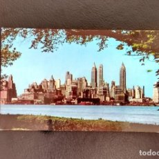 Postales: POSTAL LOWER MANHATTAN FROM GOVERNOR'S ISLAND. NEW YORK CITY. (SIN CIRCULAR). Lote 156695362