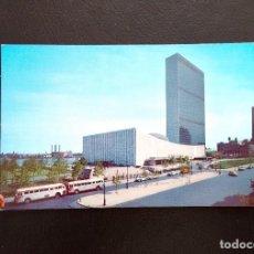 Postales: POSTAL UNITED NATIONS BUILDINGS. NEW YORK CITY. (SIN CIRCULAR). Lote 156696870