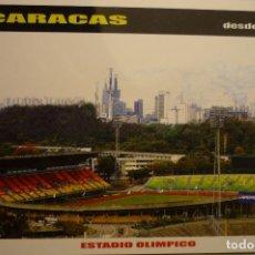 Postales: POSTAL CARACAS .- FUTBOL ESTADIO OLIMPICO. Lote 156768346