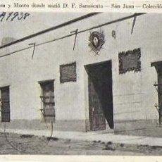 Postales: P- 9190. POSTAL FOTOGRAFICA DE LA CASA MUSEO DONDE NACIO D F SARMIENTO.Nº14. . Lote 159022310
