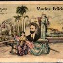 Postales: CUBA - POSTAL ILUSTRADA PERSONALIZADA - HACIA 1910 - FOTOGRAFICA. Lote 160216542