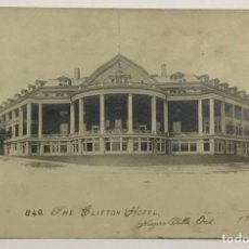 Postales: THE CLIFTON HOTEL. NIAGARA FALLS. ONTARIO. (FOT. F. B. PECK).. Lote 160368138