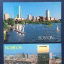 Postales: LOTE 2 TARJETAS POSTALES ESTADOS UNIDOS BOSTON AÑOD 90 NUEVAS. Lote 160627870