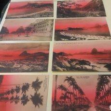 Postales: ANTIGUAS POSTALES RÍO JANEIRO BRASIL. Lote 161145717
