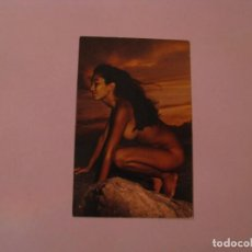 Postales: POSTAL DE HAWAI. HAWAIIAN BEAUTY AT SUNSET. ALOHA CARDS.. Lote 162520746