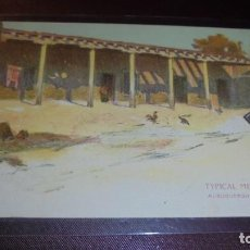 Postales: MEXICO - TYPICAL MEXICAN HOME ALBUQUERQUE - NEW MEXICO - 14X9 CM. . Lote 163342750
