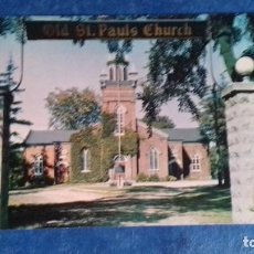 Postales: CANADÁ. OLD ST. PAUL´S CHURCH, WOODSTOCK, ONTARIO. PRISMAFLEX, 42728. SIN CIRCULAR.. Lote 163801446
