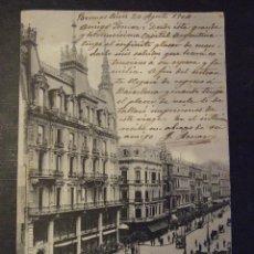 Postales: POSTAL ANTIGUA - BUENOS AIRES , REP. ARGENTINA AVENIDA MAYO - ROSAUER 574 - CIRCULADA 1904. Lote 165356150
