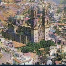 Postales: POSTAL MEXICO - VISTA DOMINADA POR LA PARROQUIA DE STA PRISCA - ISBEL - CIRCULADA. Lote 166878464