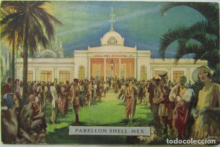 POSTAL PABELLON SHELL - MEX BUENOS AIRES 1931 (Postales - Postales Extranjero - América)