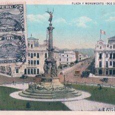 Postales: POSTAL PERU - LIMA - PLAZA Y MONUMENTO DOS DE MAYO - 62682 C - LUIS SABLICH - TAMPON CARLOS PESCETTO. Lote 209186707