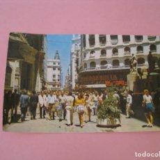 Postales: ARGENTINA. BUENOS AIRES. CALLE FLORIDA. EDICOLOR, INDUSTRIA ARGENTINA.. Lote 167544200