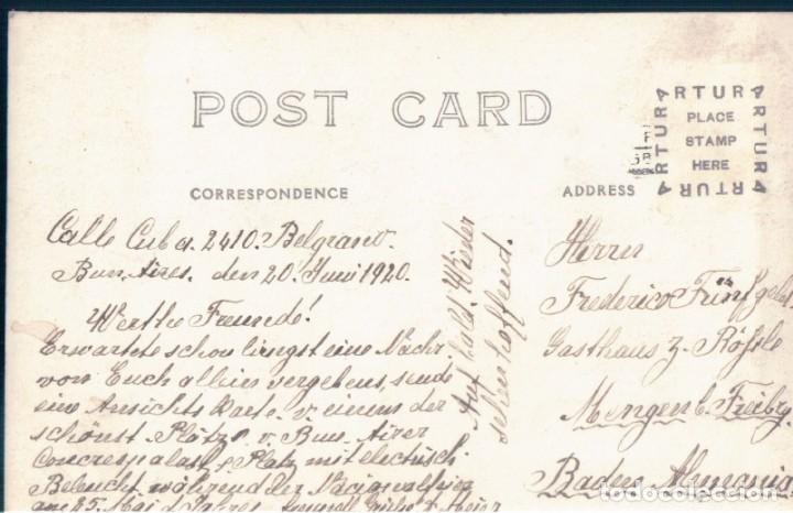 Postales: POSTAL BUENOS AIRES - CENTENARIO INDEPENDENCIA ARGENTINA 1816 - 1916 - PLAZA DEL CONGRESO - J CUNILL - Foto 2 - 167782024
