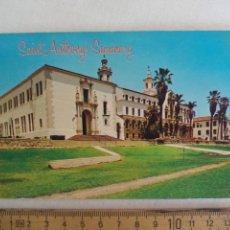Postales: SAINT ANTHONY'S SEMINARY SANTA BARBARA CALIFORNIA P62748 USA SIN CIRCULAR POSTAL. POSTCARD. Lote 169364112