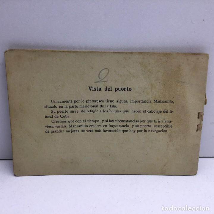 Postales: VISTAS COMPLETAS DE ESPAÑA CUBA - TOMO I - UN REAL - ANTERIOR A 1900 - 1ª PÁGINA ROTA - Foto 4 - 171011305